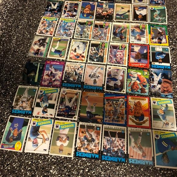 84 Seattle Mariners baseball cards Ken Griffey Jr